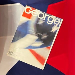 GEORGE MAGAZINE-JFK JR. Oct. 1999  Tribute Issue